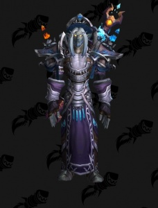 Blue Dragonsworn Outfit World Of Warcraft