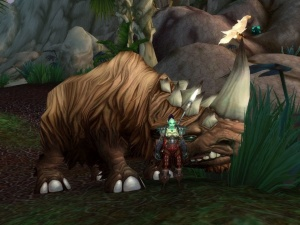 Clefthoof Hunter Pet World Of Warcraft
